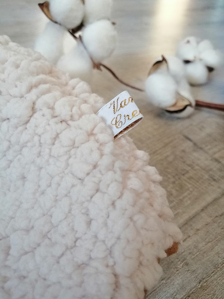 Beguin ourson shabby chic Sherpa par Vanora Creation-1