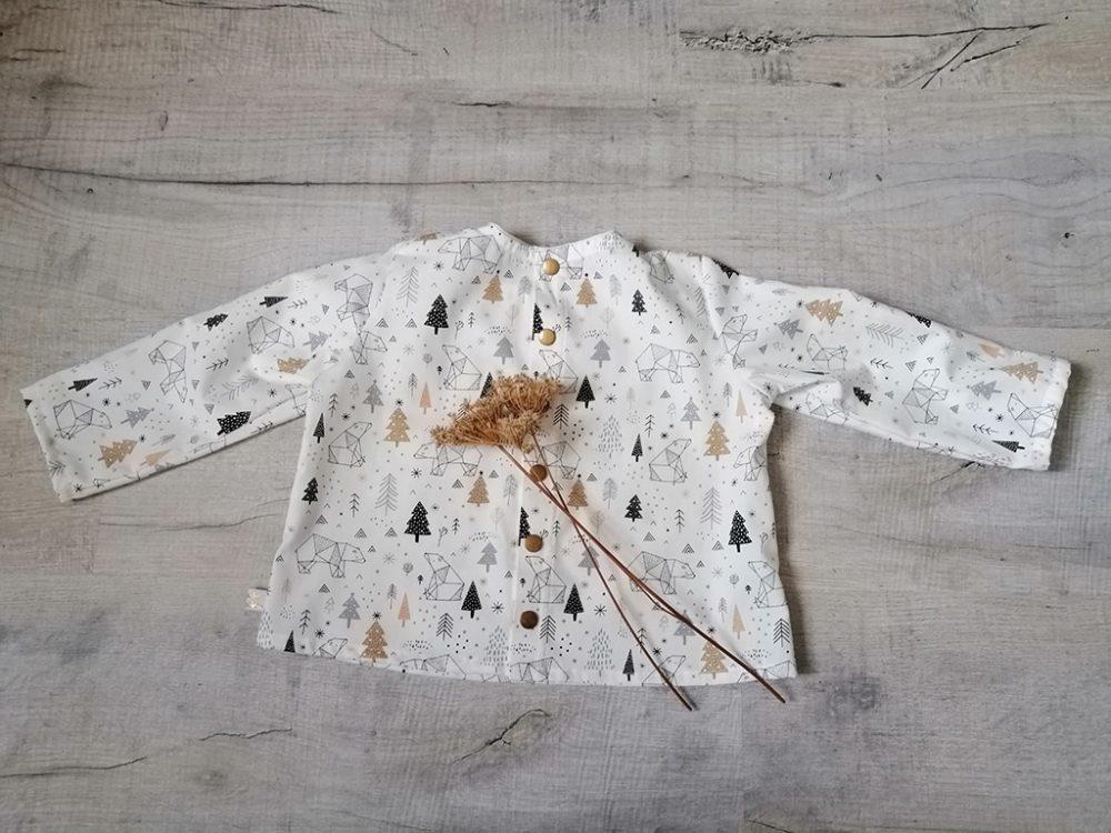 Blouse Bohemian chemise chic intemporelle par Vanora Creation-2