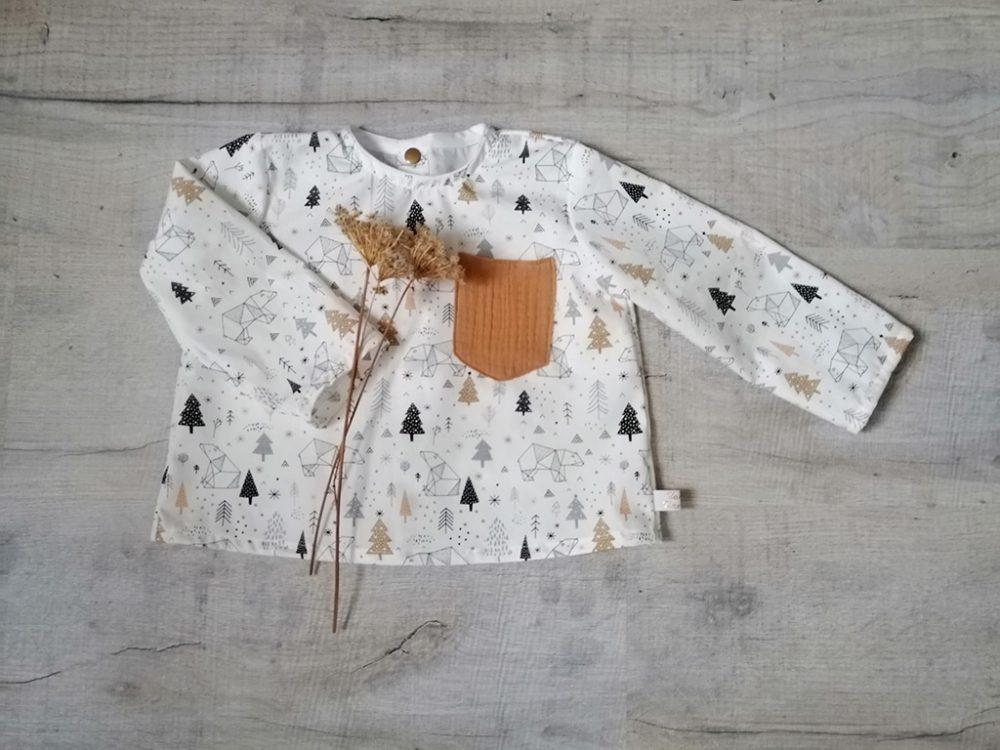 Blouse Bohemian chemise chic intemporelle par Vanora Creation-4