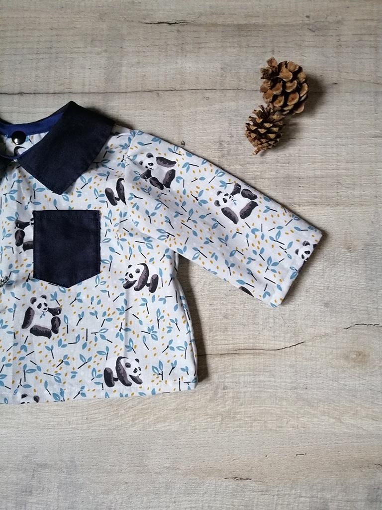 Blouse Bohemian chemise chic intemporelle par Vanora Creation-5